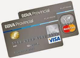 Tarjetas de Credito, BBVA Provinet, pagos