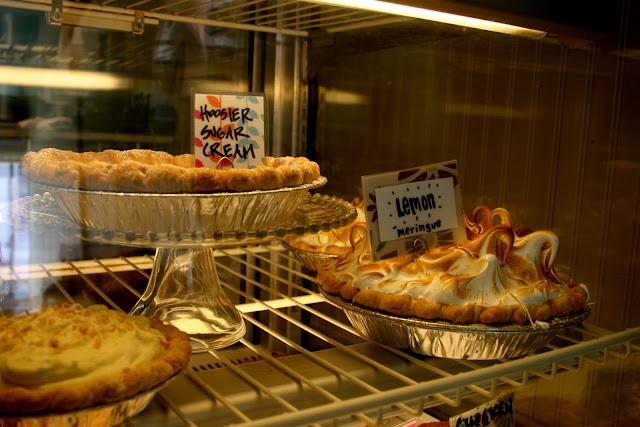 Hoosier Sugar Cream Pie and Lemon Meringue Pie at Hoosier Mama Pie Company
