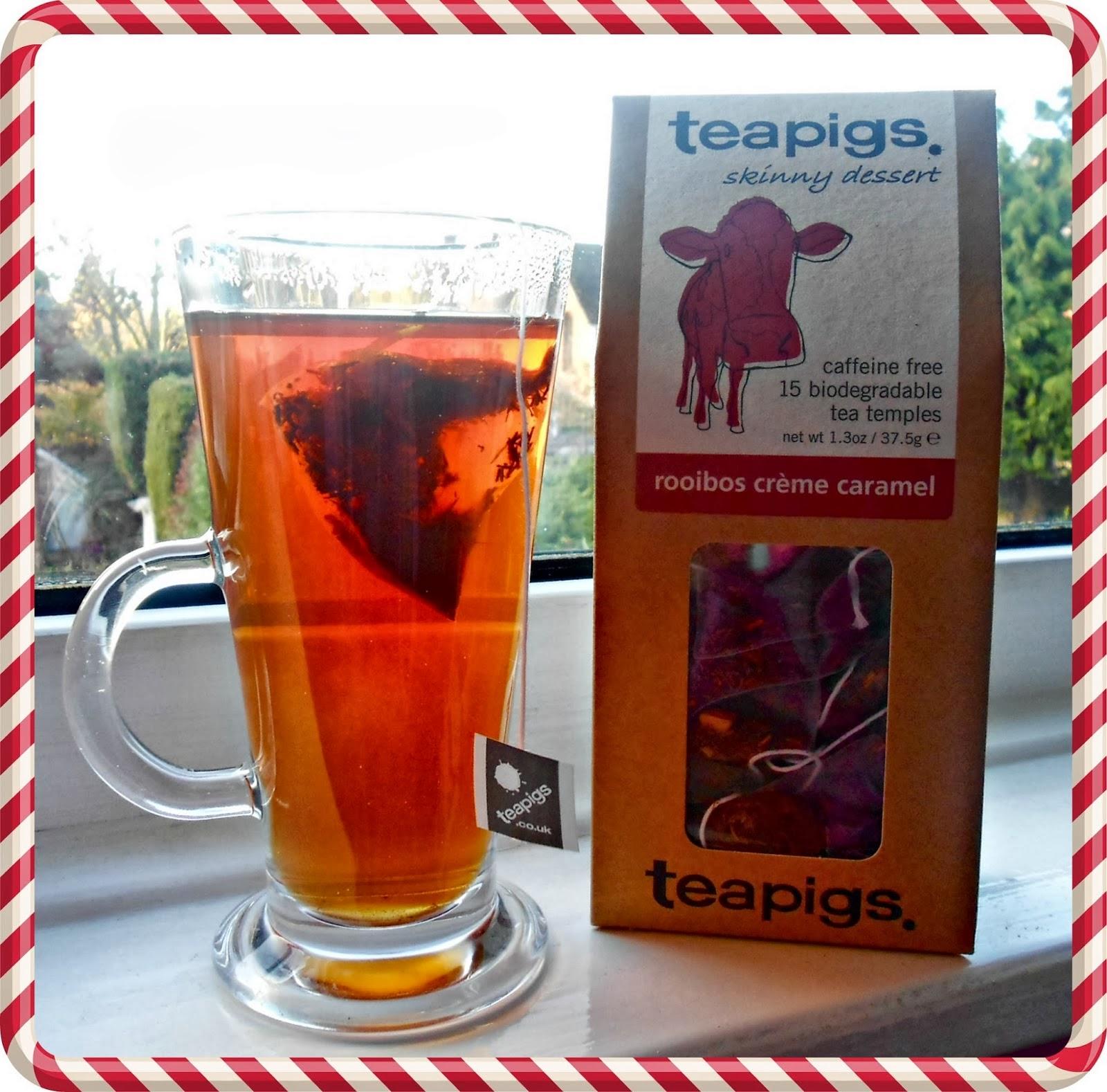 Teapigs Creme Caramel Tea Temples