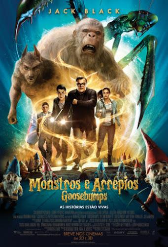 Goosebumps Monstros e Arrepios (2016) BRRip 720p / 1080p 5.1 CH Dublado