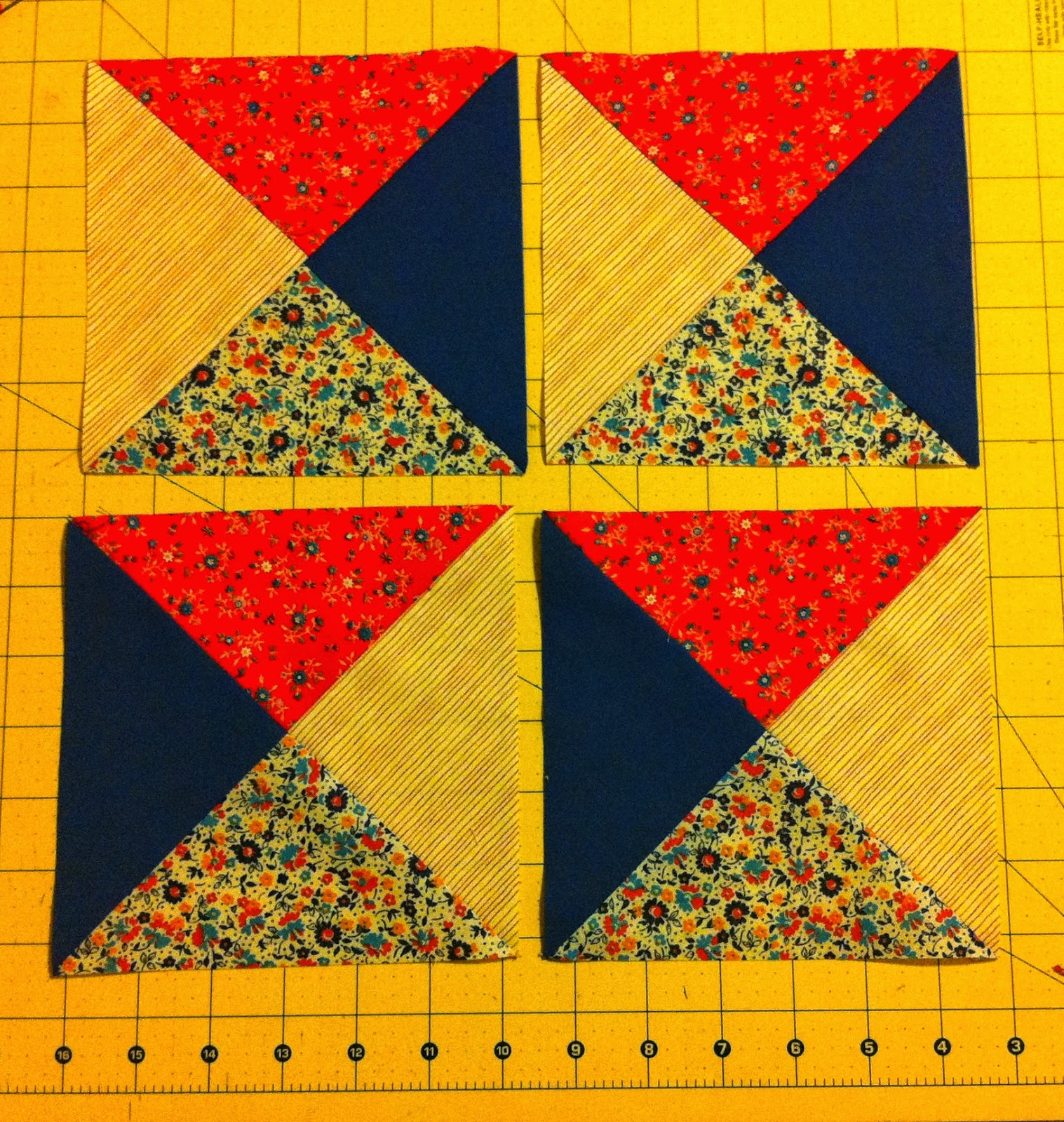 quilt as you go log cabin instructions