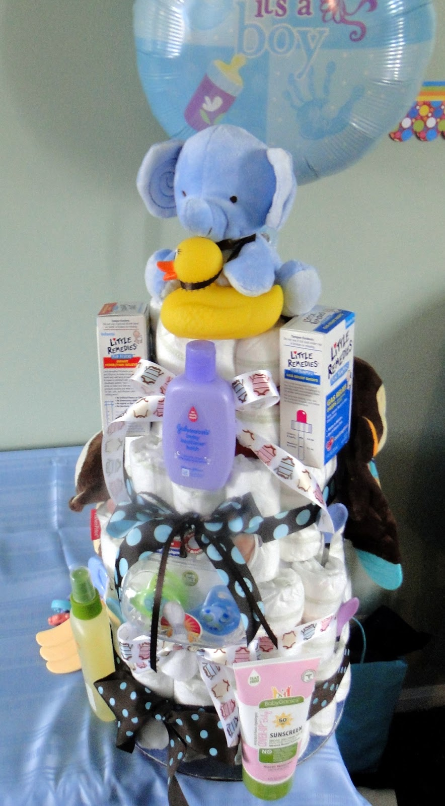 Party Frosting: Diaper cake tips and tricks