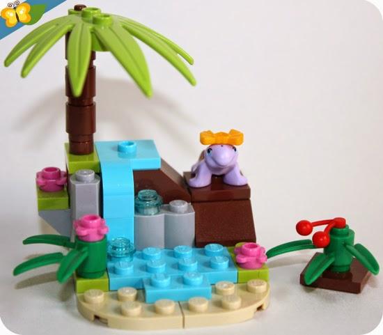 LEGO® Friends Animaux - Série 4 - La tortue et son île paradisiaque