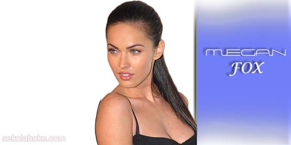This article is describing Megan Fox, The sexiest woman