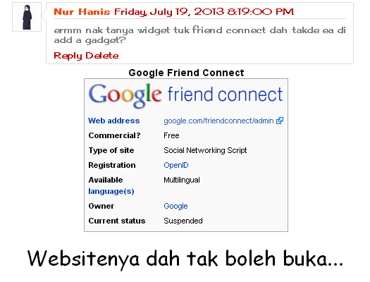 Google Friendconnect 1