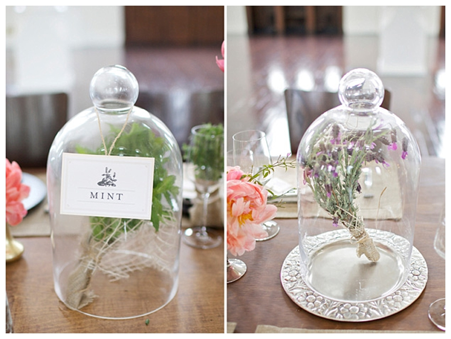 Vintage Wedding Decorations - Cloche & Bell Jars