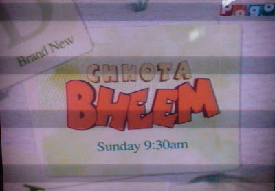 Chhota Bheem on Pogo TV