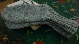 skarpetki na drutach