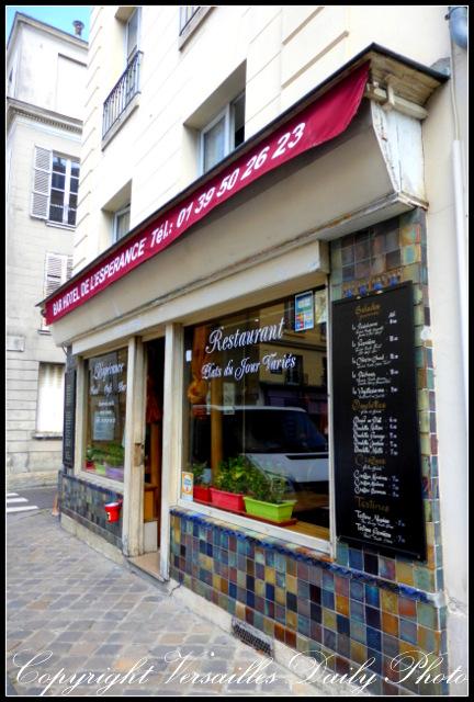 Café de l'Espérance Versailles