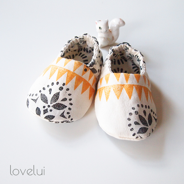 fabric booties lovelui
