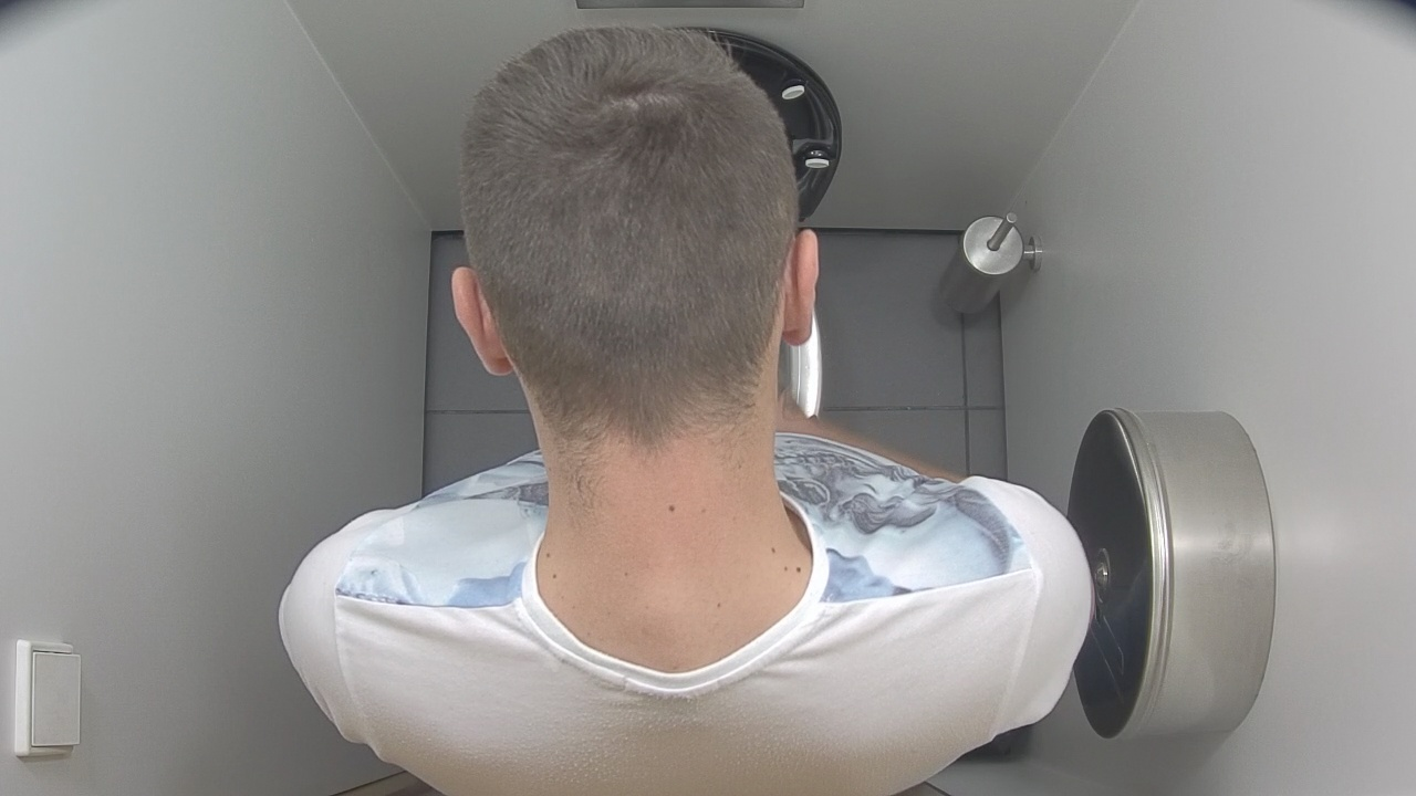 from Ramon gay hidden camera toilet