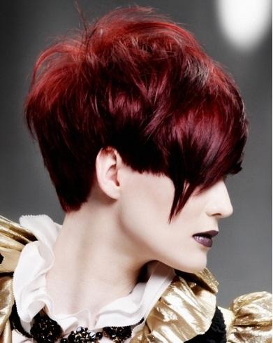 Gorgeous Short Razored Haircut 2014
