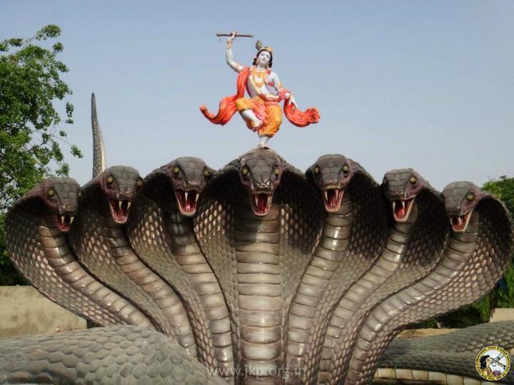 New Krishna Kaliya Snake pictures for free download