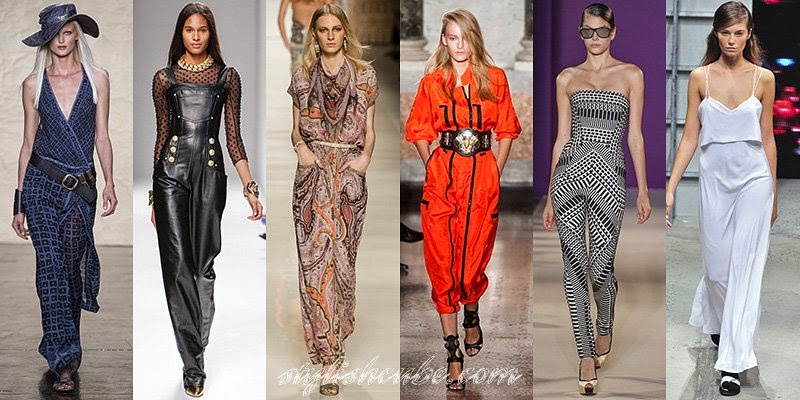 Spring Summer 2014 Overalls Fashion Trends