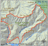 Mapa Parque Trichaue
