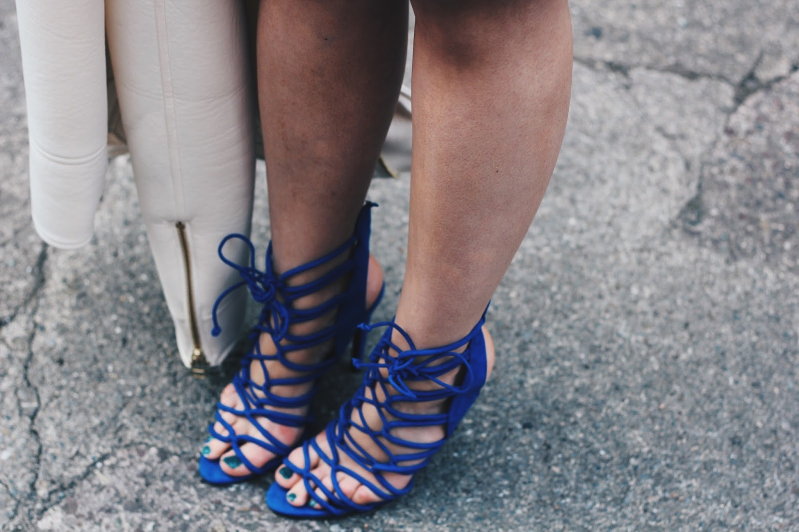 blue strappy sandals zara imageanchor=