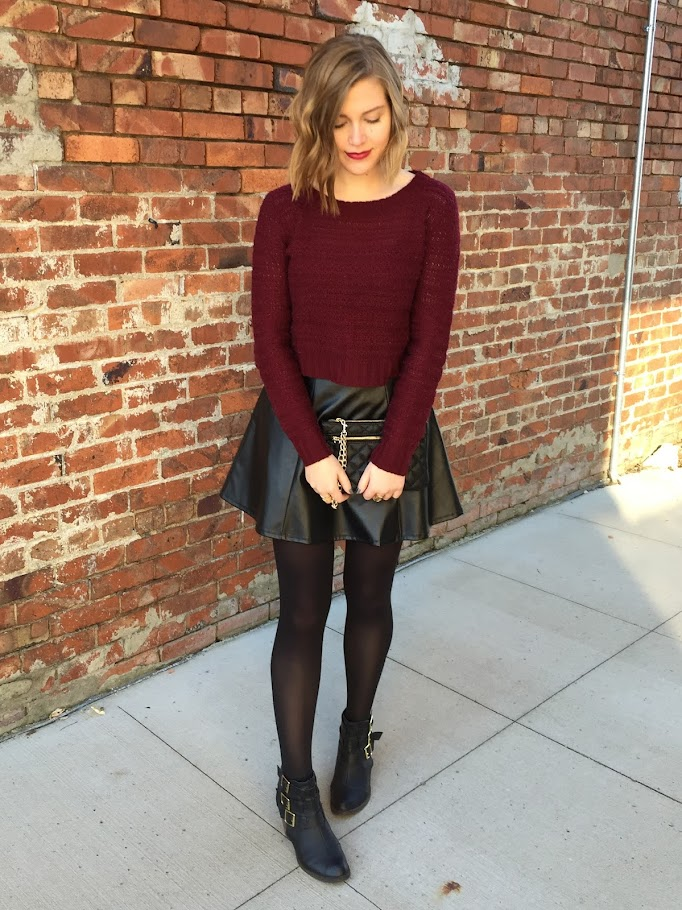 A date night outfit to break out of the jeans-and-sweater rut.