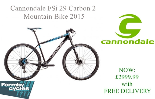 2015 Mountain Bike: Cannondale FSi 29 Carbon 2