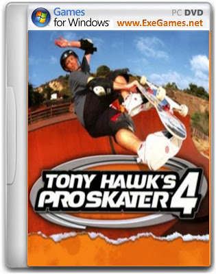 Tony Hawk's Pro Skater 4 Game