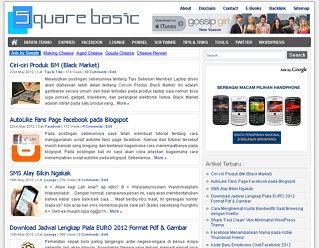 Square Basic Free Wp Theme