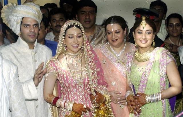 Gold and diamond jewellery designs karishma kapoor Married to design
