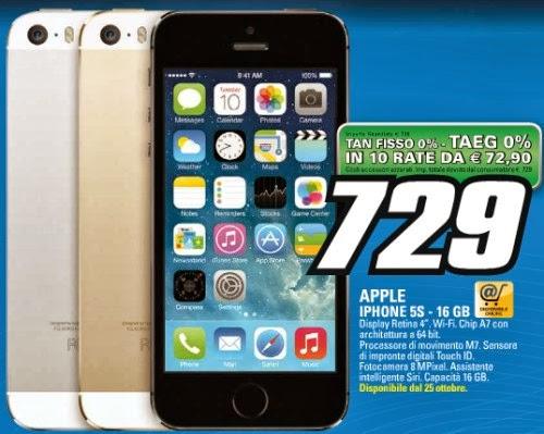 A partire dal 25 ottobre Saturn propone il nuovo top smartphone di Apple a tasso zero