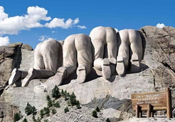 Kitchens Are Monkey Business: Mount Rushmore. Keystone, South ...