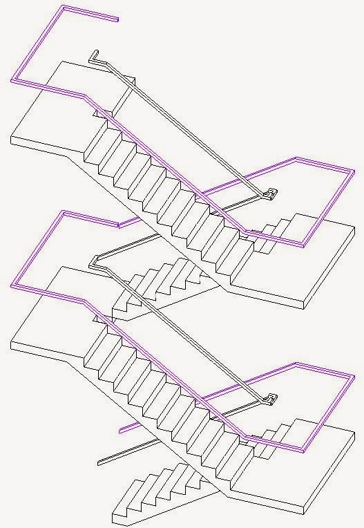 If you don\u0027t want the railings to run across the back of the stair landings (eg. doors onto landing) you can edit the railing to remove segments but you\u0027ll ...  sc 1 st  RevitCat - Blogger & RevitCat: Revit Multistorey Railings - Story 1