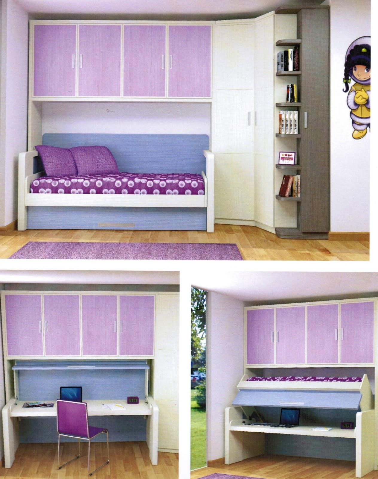 Cama mesa abatible camas autoportantes muebles - Camas abatibles juveniles para espacios reducidos ...