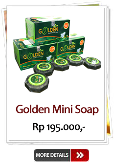 Jual Golden Mini Soap Murah