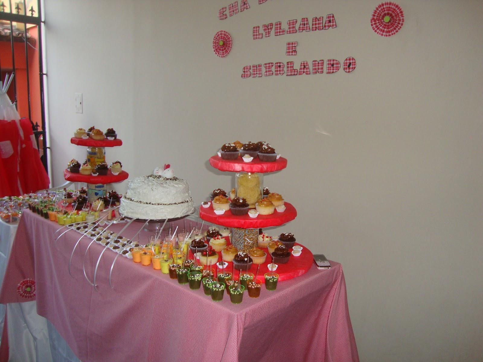 Idéias: Idéias de decoração e lanchinhos para Chá de Cozinha #A72427 1600 1200