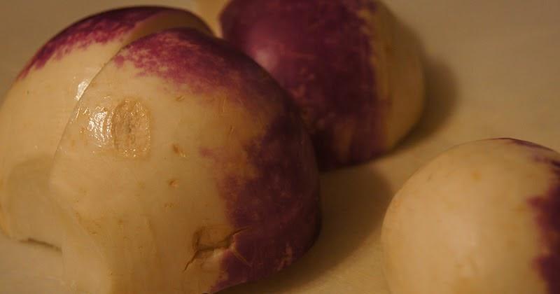 Near Disasters: RECIPE: Scalloped Turnips