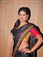 Actress Maneesha Photos in Saree-cover-photo