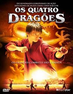 Os Quatro Dragões Dublado Rmvb + Avi Dual Áudio DVDRip