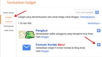 Mempercantik Tampilan Formulir Kontak Blogger