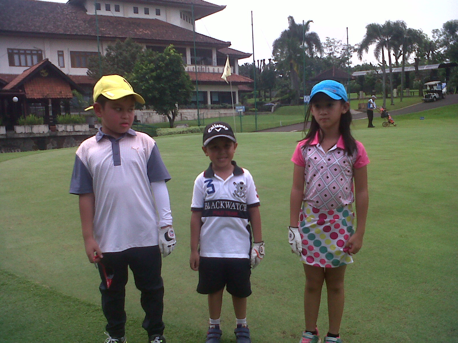 JUNIOR GOLF TOURNAMENT- MEI - 2017