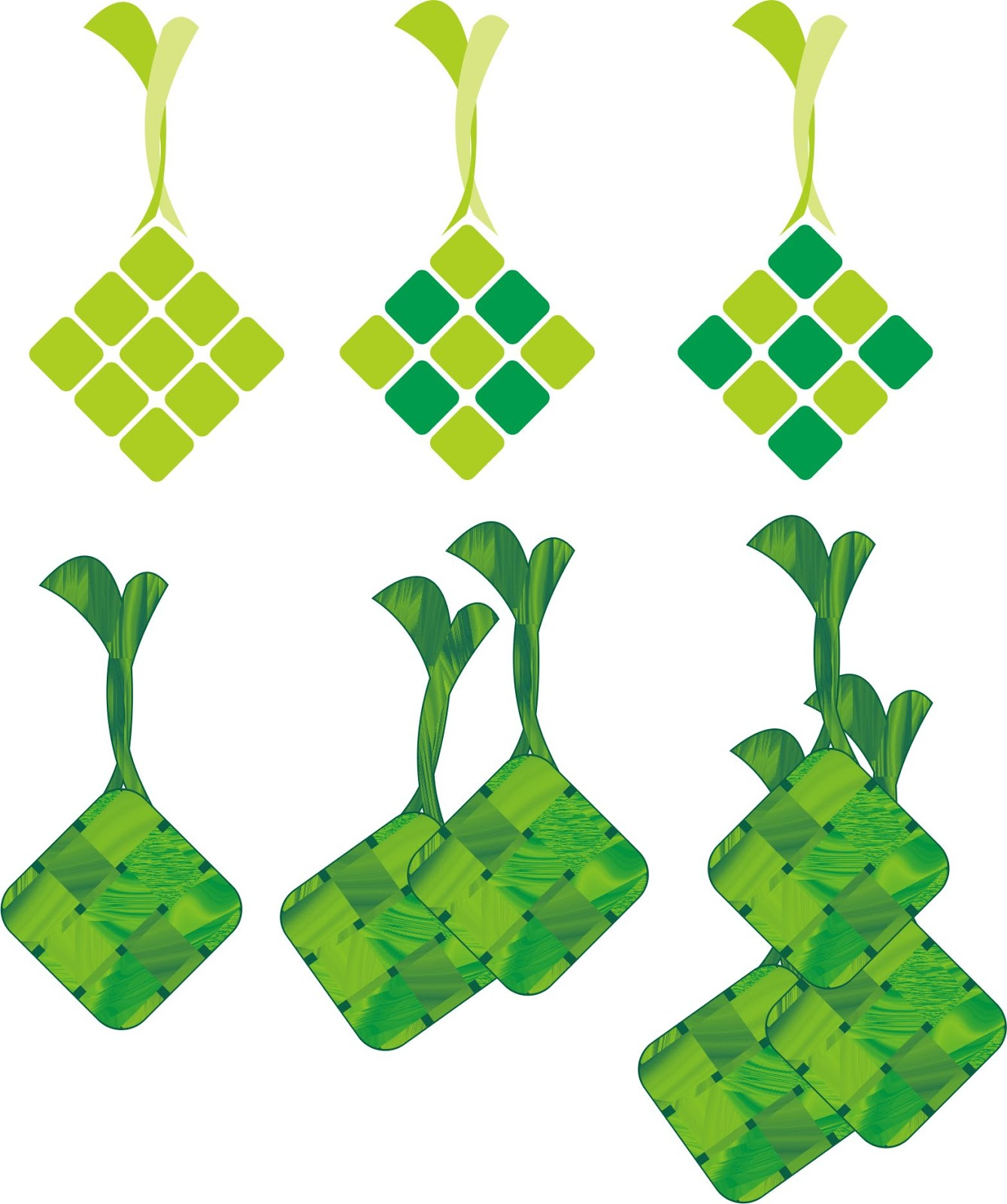 ... ketupat cdr) di link donwload gambar ketupat . Buka dengan corel 15