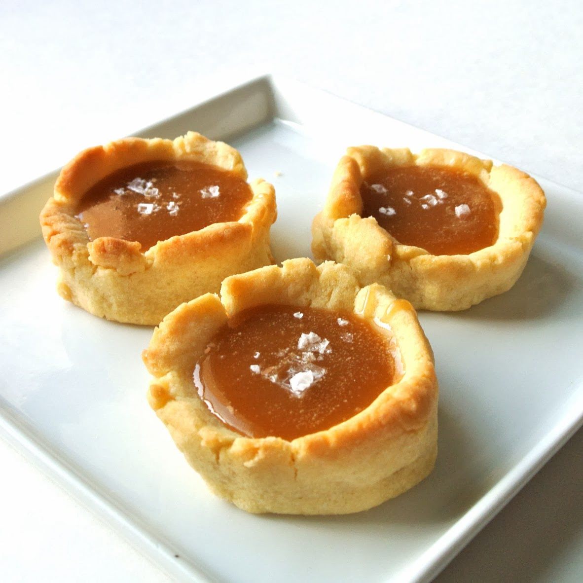 Gourmet Cooking For Two: Salted Caramel Shortbread Cups