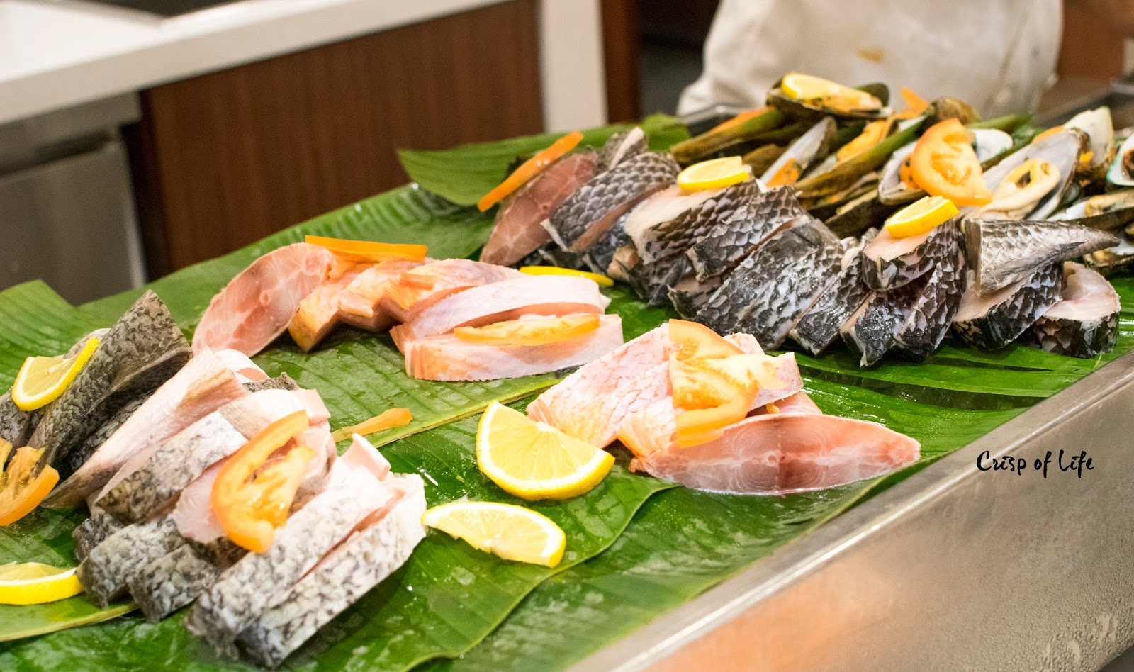 Seafood Japanese Seafood Buffet Dinner Evergreen Laurel Hotel Penang