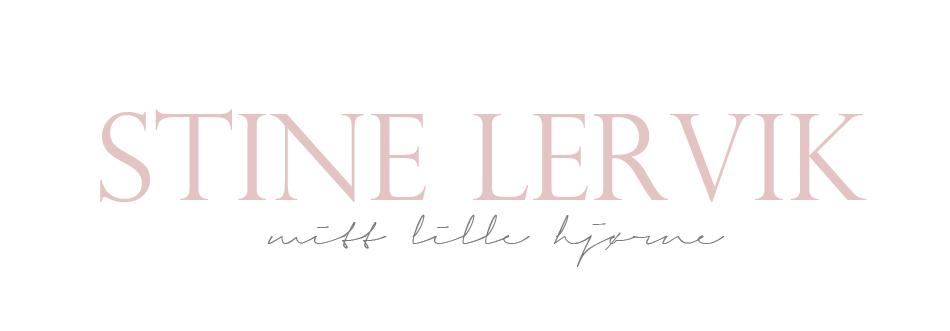 Stine Lervik - mitt lille hjørne♥
