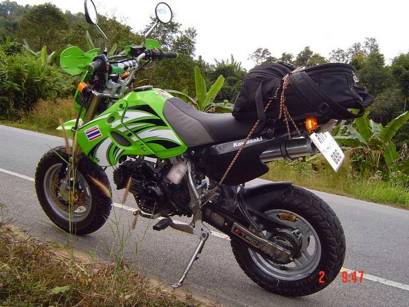 Modifikasi Motor Kawasaki KSR 110