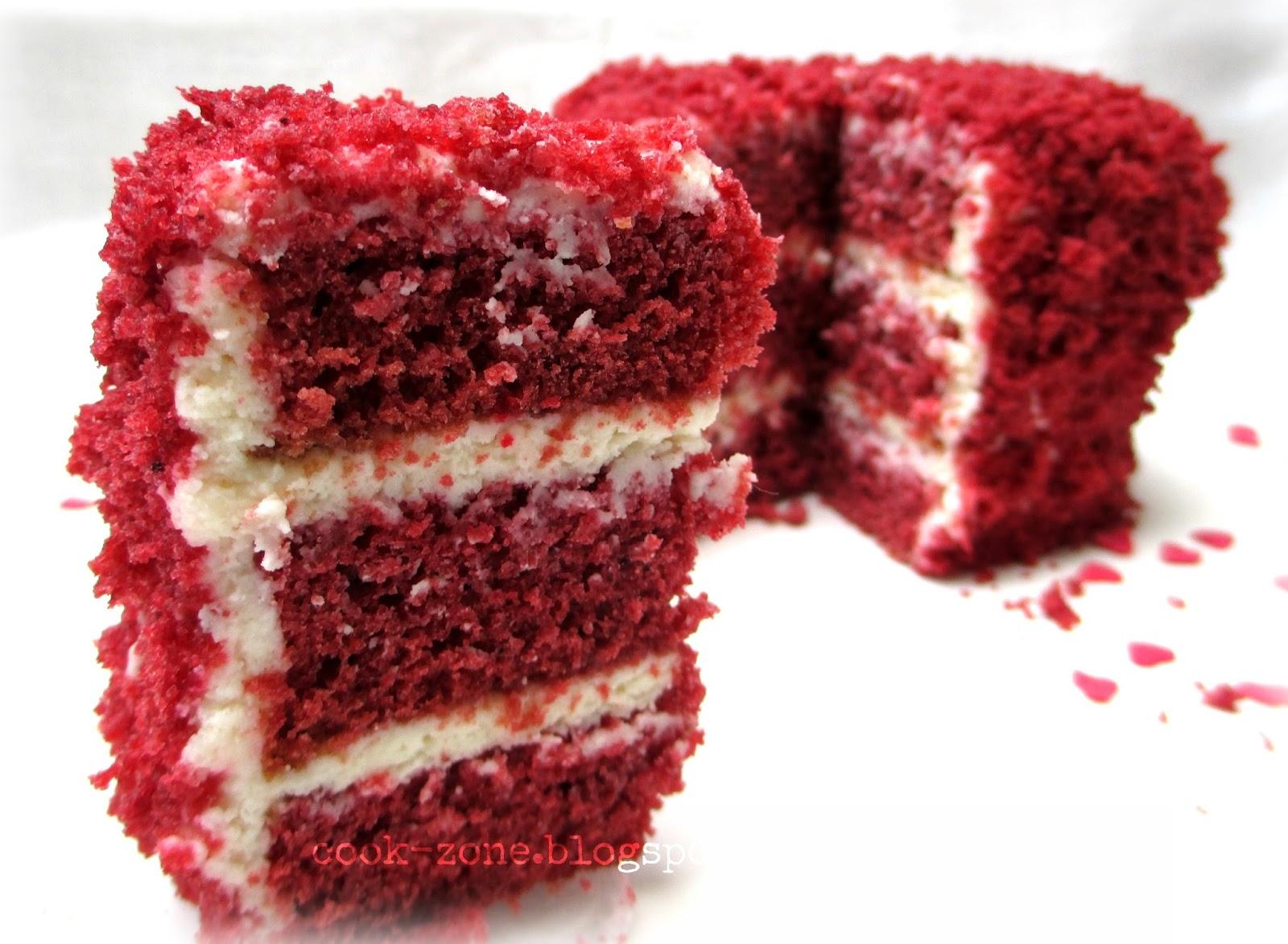 Red Velvet Pound Cake Made From Cake Mix