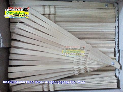 bambu kipas besar dengan gagang tipe 21an unik