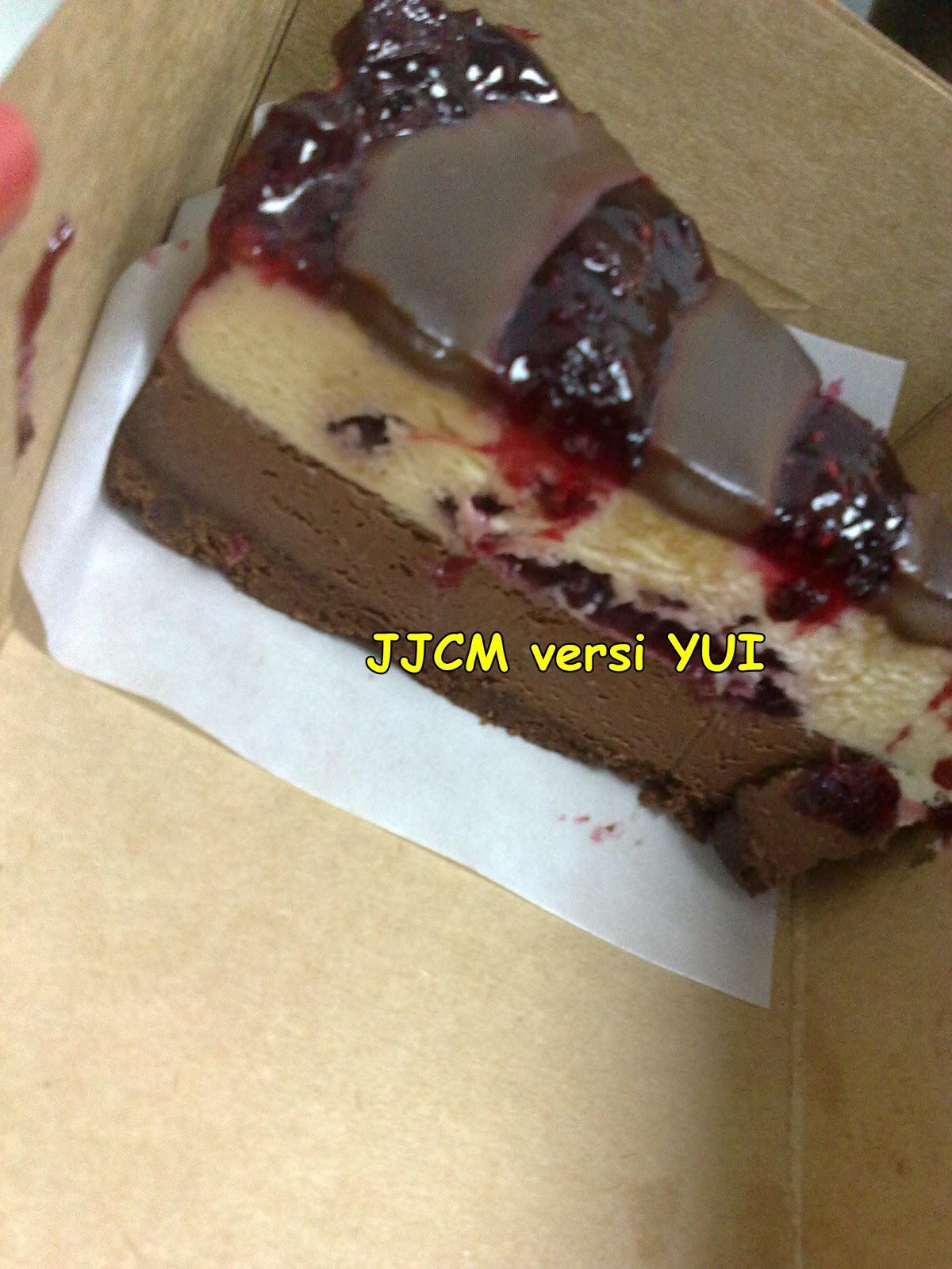JJCM versi Yui : Secret Recipe Cheese Berries Cake