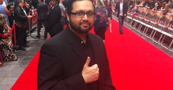 Picture of Asim Ahmad, who is cast to play Dr. Michael Morbius