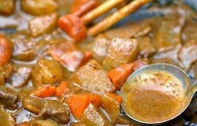 Cách nấu Thịt bò nấu ca ri ngon