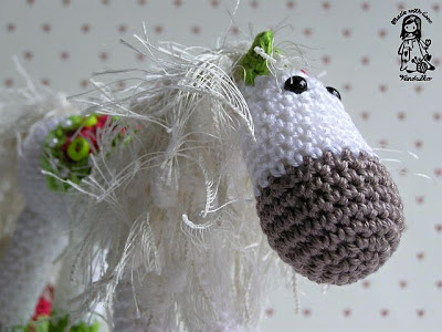 rocking horse, amigurumi, christmas decoration, christmas,crochet, crochet pattern,Magic with hook and needles, Vendula Maderska design, VendulkaM crochet,