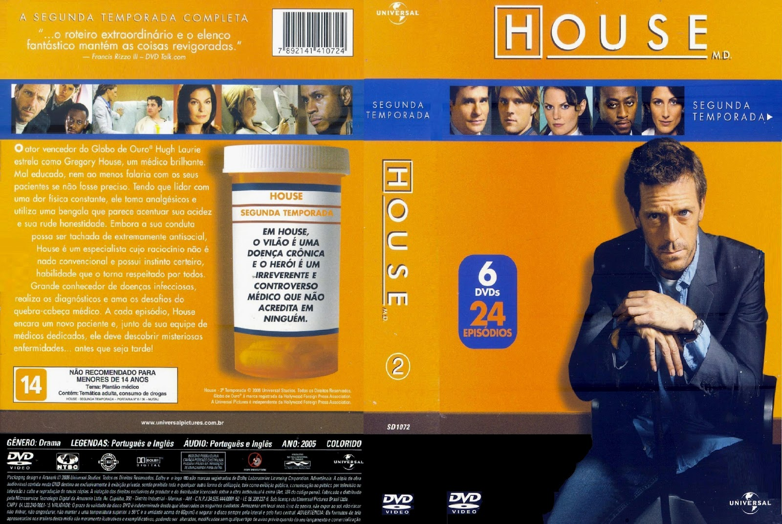 sunnyhd dr house 2 temporada 6 discos. Black Bedroom Furniture Sets. Home Design Ideas