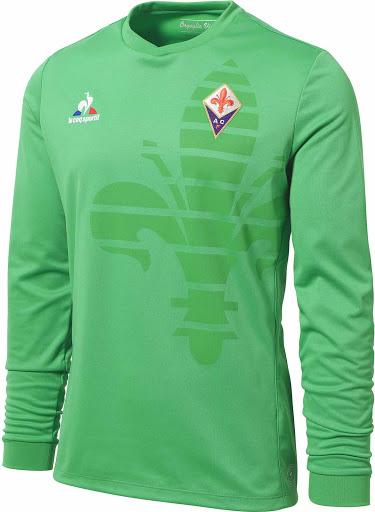 Le Coq Sportif Fiorentina 2015-2016 Goalkeeper Shirt. This is the new green  Fiorentina 15-16 Goalkeeper Jersey. 0780a1aeb