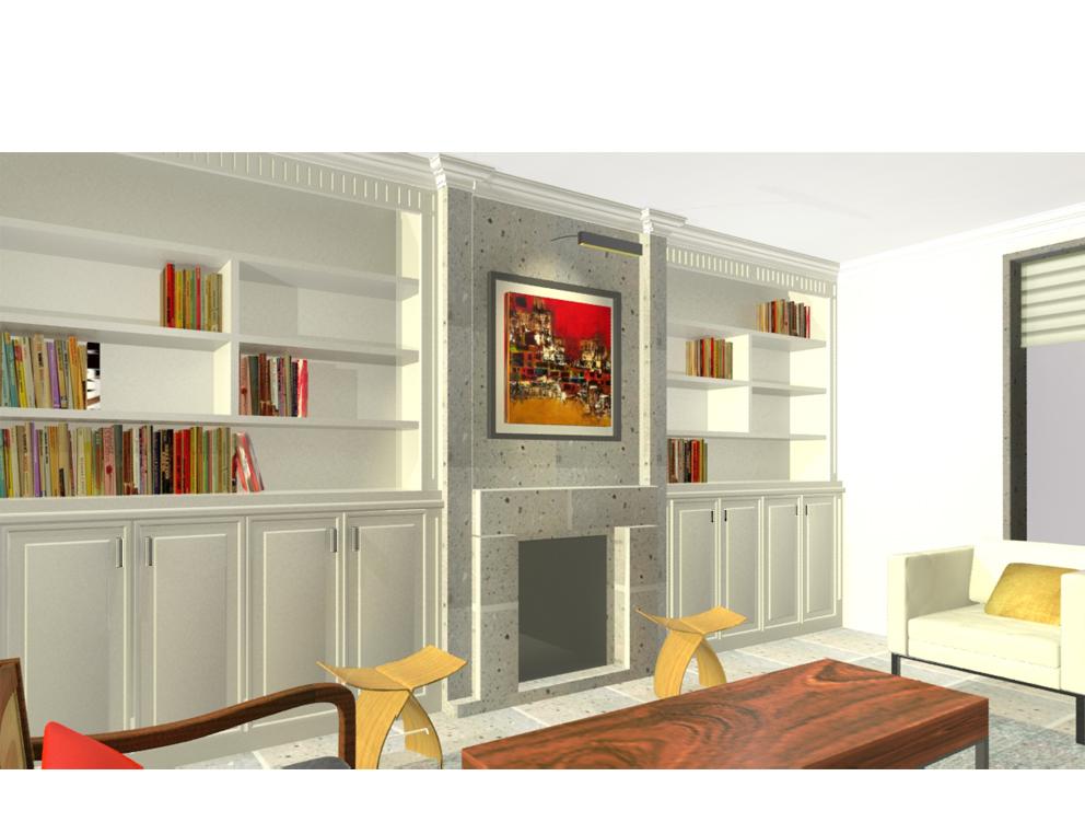 Estudio Gl Renders De Dise O Interiores Para Casa Habitaci N